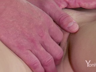 Yonitale: 2 Hot Teens Give Orgasms To Beautiful Virgin. P1
